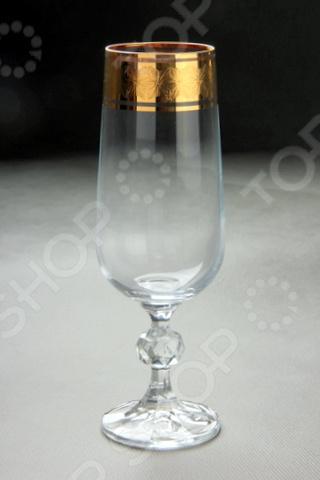 Набор бокалов для шампанского Коралл «Снежная королева» набор бокалов для вина коралл виола