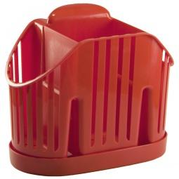 фото Сушилка для столовых приборов IDEA М 1160. Цвет: красный
