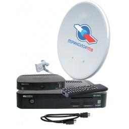 фото Комплект из 2 ресиверов для спутникового телевидения ТРИКОЛОР GS E501/C591