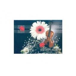 фото Тетрадь для нот Бриз «Музыкальная скрипка»