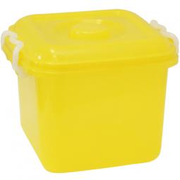 фото Ёмкость для хранения IDEA. Цвет: желтый. Объем: 6 л
