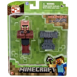 фото Набор игровой для мальчика Minecraft «Деревенский житель: Кузнец»