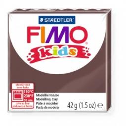 фото Глина полимерная для детей Fimo kids. Цвет: коричневый