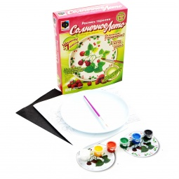Купить Тарелка для росписи EasyArt № 4 Малина