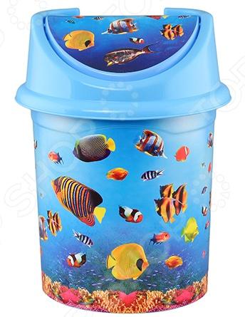 Контейнер для мусора детский Violet 0404/79 «Океан»