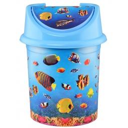 Купить Контейнер для мусора детский Violet 0404/79 «Океан»