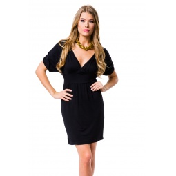 фото Платье Mondigo 8610. Цвет: черный. Размер одежды: 44