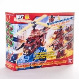 Купить Конструктор-игровой набор Voov Пожарно-спасательный вертолет-трансформер