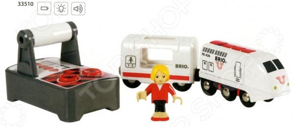 Поезд пассажирский на радиоуправлении Brio 33510