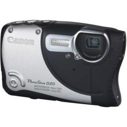 фото Фотокамера цифровая Canon PowerShot D20. Цвет: серебристый