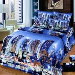 фото Комплект постельного белья АртПостель «Мегаполис». Евро