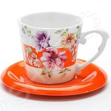 Чайная пара Loraine LR-24715 «Цветы»