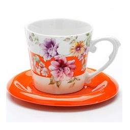 фото Чайная пара Loraine LR-24715 «Цветы»