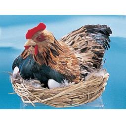 Купить Сувенир «Курица с гнездом»