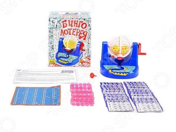 Игра настольная Shantou Gepai «Бинго лотерея» бинго lzs lzs21