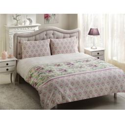 фото Комплект постельного белья TAC Donna. Евро. Цвет: сиреневый