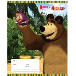 фото Тетрадь в линейку Росмэн «Маша и Медведь» 13986