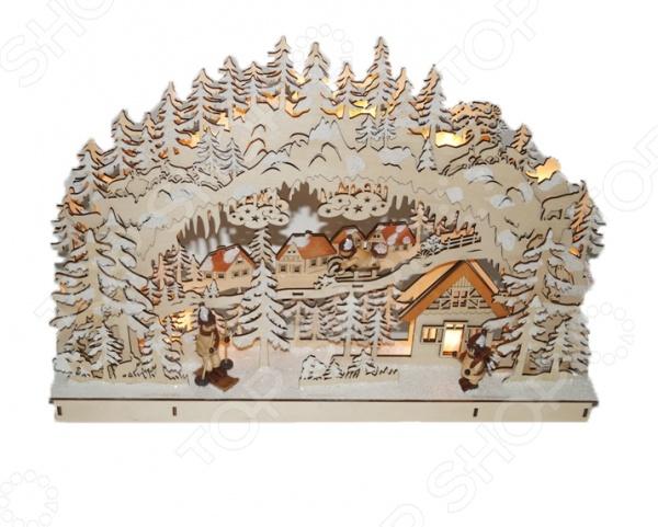 Декорация рождественская Star Trading «Зимняя деревня»