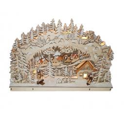 Купить Декорация рождественская Star Trading «Зимняя деревня»