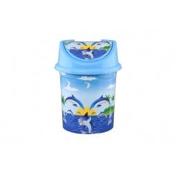 Купить Контейнер для мусора детский Violet 0408/83 «Дельфин»