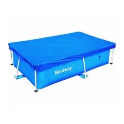 Купить Чехол защитный для бассейна прямоугольного на стойках Bestway 58104