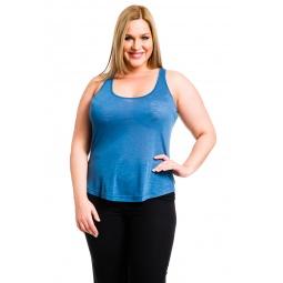 фото Майка Mondigo XL 8462. Цвет: джинсовый. Размер одежды: 50