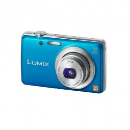 фото Фотокамера цифровая Panasonic Lumix DMC-FS40. Цвет: синий