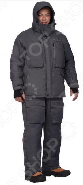 Костюм для рыбалки зимний NOVA TOUR «Салмон». Цвет: черный костюм для зимней рыбалки fisherman nova tour салмон l 46213 901 l