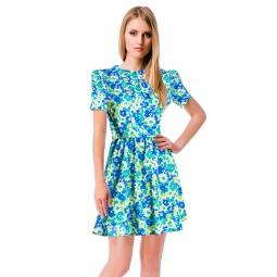 фото Платье Mondigo 5046. Цвет: синий. Размер одежды: 46