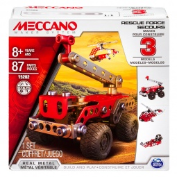 Купить Конструктор металлический Meccano «Техника службы спасения»