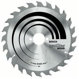Купить Диск отрезной для ручных циркулярных пил Bosch Optiline Wood 2608640583