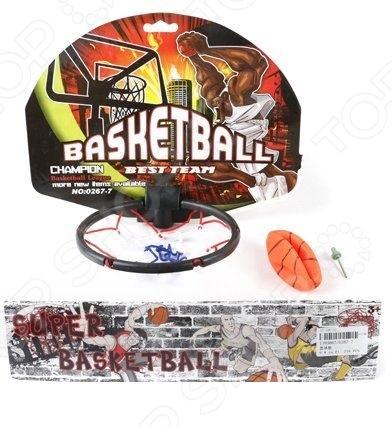 Набор для игры в баскетбол Shantou Gepai 0267-7Спортивные игры<br>Набор для игры в баскетбол Shantou Gepai 0267-7 станет отличным приобретением для юного спортсмена. С ним у малыша появится возможность попробовать себя в роли профессионального баскетболиста и отработать различные спортивные приемы. Занятия баскетболом способствуют развитию у детей выносливости, скорости реакции и физической силы. В набор входит мяч и баскетбольный щит.<br>
