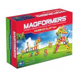 Купить Конструктор магнитный Magformers Neon color set 60