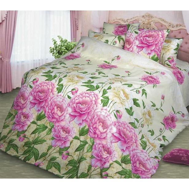 фото Комплект постельного белья Белиссимо «Очарование». 2-спальный. Размер простыни: 220х240 см