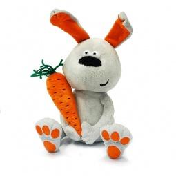 Купить Мягкая игрушка ДуRашки «Заяц и морковка»