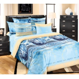 фото Комплект постельного белья Королевское Искушение с компаньоном «Созвездие Овна». 2-спальный