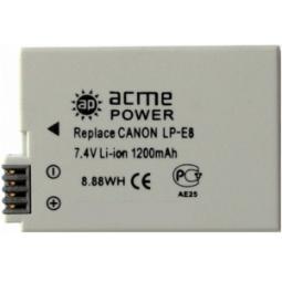 Купить Аккумулятор для фотоаппарата AcmePower AP-LP-E8