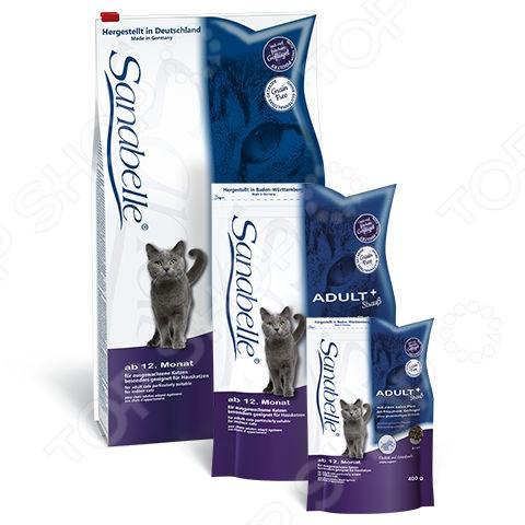 Корм сухой для кошек Bosch Sanabelle Adult StraussСухой корм<br>Корм сухой для кошек Bosch Sanabelle Adult Strauss качественный и экологически чистый корм, который идеально подходит для вашего питомца. Данное питание включает в себя только отборные натуральные ингредиенты, дополнительно обогащенные всеми необходимыми для животного витаминами и минералами. Благодаря этому ваш питомец будет получать только нужное количество полезных веществ. Приятный, натуральный вкус мяса страуса и оптимальный размер крокетов придется по душе даже самой капризной и привередливой кошке. Благодаря тому, что рацион не содержит ГМО, красителей, химических добавок, консервантов и антибиотиков, он будет безопасен для вашего питомца Как перевести кошку на новый сухой корм для кошек Bosch Sanabelle Adult Strauss. Если вы решили начать кормить питомца кормом для кошек Bosch Sanabelle Adult Strauss , это следует делать постепенно. Чтобы кошка быстрее усвоила новый вид корма, смешайте привычное для неё питание с хрустящими гранулами. В последующие 7 дней понемногу увеличивайте содержание сухого корма, до тех пор пока она полностью не перейдет на него. Норма кормления. Для нормального самочувствия вашей кошки следует придерживаться следующей нормы:       Вес животного кг     2-3     4-5     6-7     8-9     10-11     12-13       Количество корма в день г     40-55     65-75     85-95     105-115     120-130     135-145    Внимание! Всегда следите за тем, чтобы у вашей кошки была чистая и свежая вода в миске.<br>