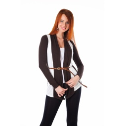 фото Кардиган Mondigo 8513. Цвет: коричневый. Размер одежды: 44