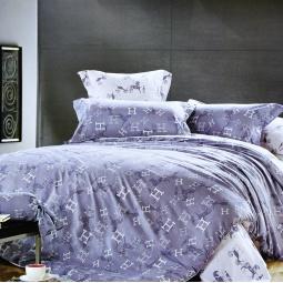 фото Комплект постельного белья Amore Mio Hermes. Provence. Семейный