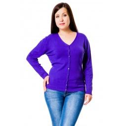 фото Жакет Mondigo XL 9130. Цвет: фиолетовый. Размер одежды: 50