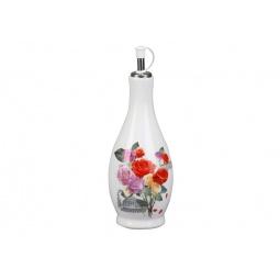 фото Бутылка для масла Rosenberg 8100. Рисунок: розы