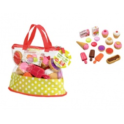 фото Игровой набор: сумочка с пирожными Ecoiffier 2660