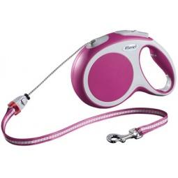 фото Поводок-рулетка Flexi VARIO M. Цвет: розовый