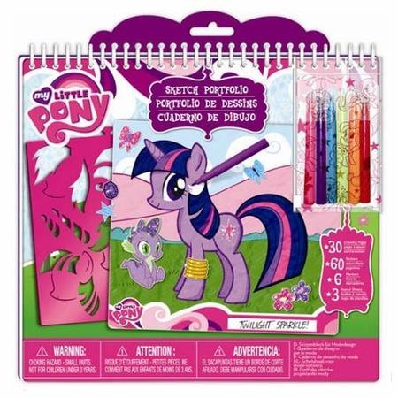 Купить Портфолио-блокнот Fashion Angels «Моя маленькая пони»