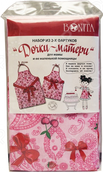 Комплект из 2-х фартуков BONITA «Дочки-матери» платья для мамы и дочки в спб