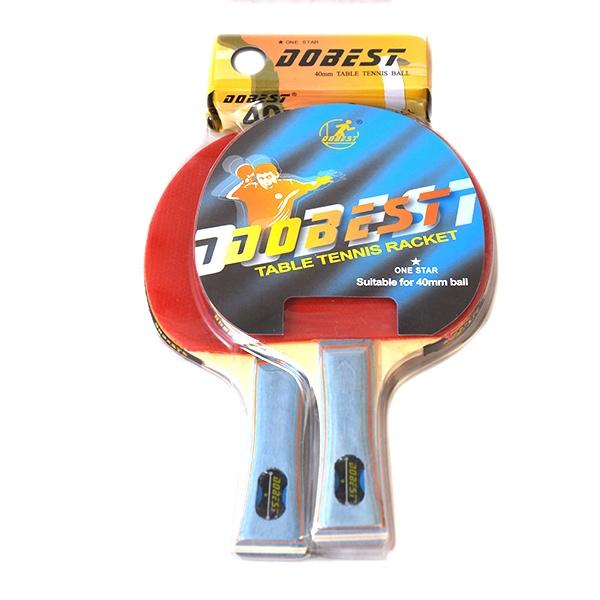 Набор для настольного тенниса DoBest BR20 1* д в нестерова оригинальные блюда в глиняных горшочках