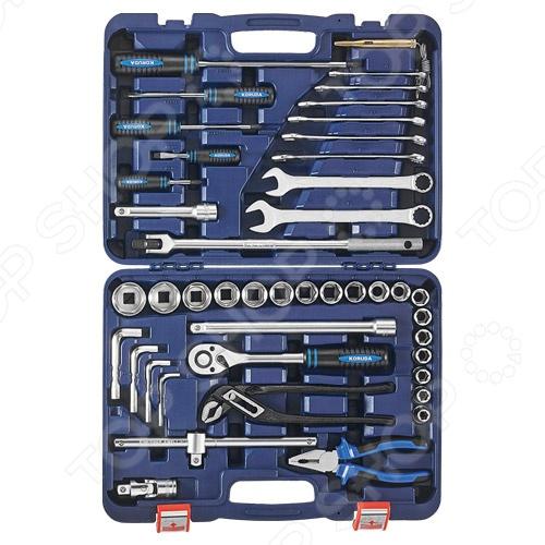 Набор инструментов Koruda KR-TK45 набор торцевых головок stanley и комбинированных ключей 40 предметов 1 99 056
