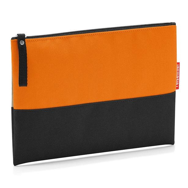 фото Косметичка Reisenthel Case 1 Patchwork. Цвет: оранжевый, коричневый