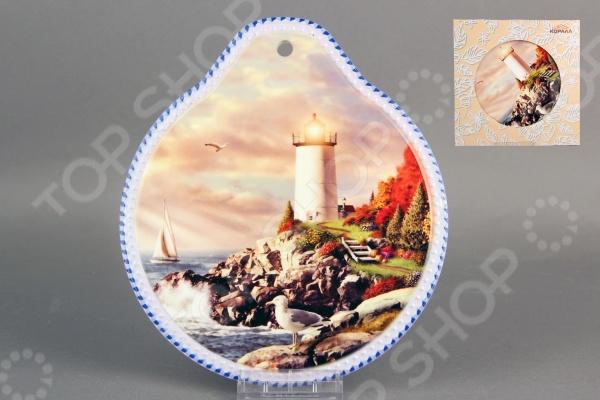 Подставка под горячее Коралл «Маяк» браслеты indira браслет бирюза коралл gl0143